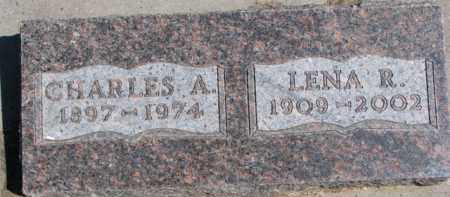 LUETH, CHARLES A. - Dixon County, Nebraska | CHARLES A. LUETH - Nebraska Gravestone Photos