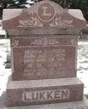 LUKKEN, ANDREW H. - Dixon County, Nebraska | ANDREW H. LUKKEN - Nebraska Gravestone Photos