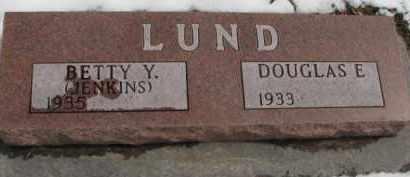 LUND, BETTY Y. - Dixon County, Nebraska   BETTY Y. LUND - Nebraska Gravestone Photos