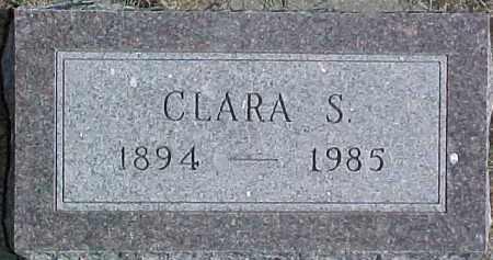 LUND, CLARA S. - Dixon County, Nebraska | CLARA S. LUND - Nebraska Gravestone Photos
