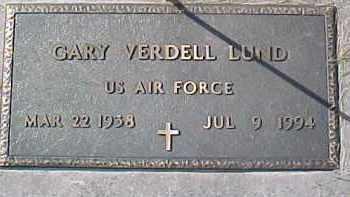 LUND, GARY VERDELL (MILITARY MARKER) - Dixon County, Nebraska   GARY VERDELL (MILITARY MARKER) LUND - Nebraska Gravestone Photos