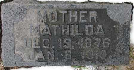 LUND, MATHILDA - Dixon County, Nebraska | MATHILDA LUND - Nebraska Gravestone Photos