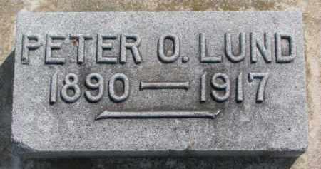 LUND, PETER O. - Dixon County, Nebraska | PETER O. LUND - Nebraska Gravestone Photos