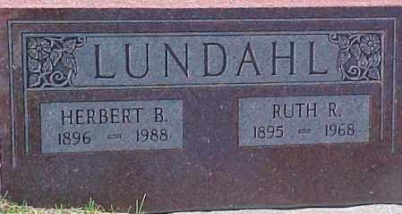LUNDAHL, RUTH R. - Dixon County, Nebraska | RUTH R. LUNDAHL - Nebraska Gravestone Photos