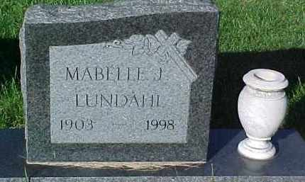 LUNDAHL, MMAYBELLE J. - Dixon County, Nebraska | MMAYBELLE J. LUNDAHL - Nebraska Gravestone Photos