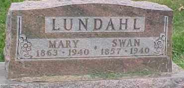 LUNDAHL, MARY - Dixon County, Nebraska | MARY LUNDAHL - Nebraska Gravestone Photos