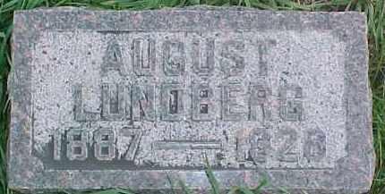 LUNDBERG, AUGUST - Dixon County, Nebraska | AUGUST LUNDBERG - Nebraska Gravestone Photos