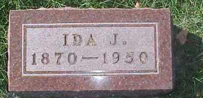 LUNDBERG, IDA J. - Dixon County, Nebraska | IDA J. LUNDBERG - Nebraska Gravestone Photos