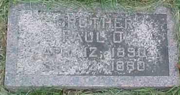 LUNDBERG, PAUL O. - Dixon County, Nebraska | PAUL O. LUNDBERG - Nebraska Gravestone Photos
