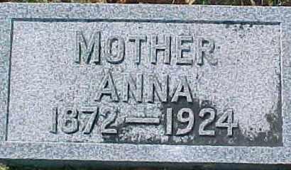 LUNDIN, ANNA - Dixon County, Nebraska   ANNA LUNDIN - Nebraska Gravestone Photos