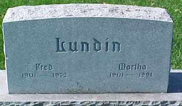 LUNDIN, FRED - Dixon County, Nebraska | FRED LUNDIN - Nebraska Gravestone Photos