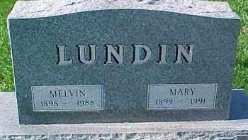 LUNDIN, MARY - Dixon County, Nebraska | MARY LUNDIN - Nebraska Gravestone Photos