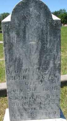 LUTHER, GEORGE W. - Dixon County, Nebraska | GEORGE W. LUTHER - Nebraska Gravestone Photos