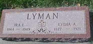LYMAN, LYDIA A. - Dixon County, Nebraska | LYDIA A. LYMAN - Nebraska Gravestone Photos