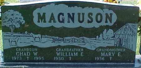 MAGNUSON, CHAD W. - Dixon County, Nebraska | CHAD W. MAGNUSON - Nebraska Gravestone Photos