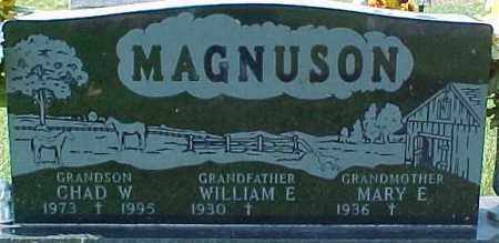 MAGNUSON, WILLIAM E. - Dixon County, Nebraska | WILLIAM E. MAGNUSON - Nebraska Gravestone Photos
