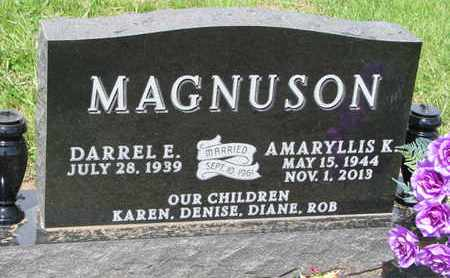 MAGNUSON, AMARYLLIS K. - Dixon County, Nebraska | AMARYLLIS K. MAGNUSON - Nebraska Gravestone Photos