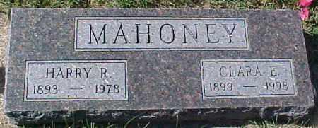 MAHONEY, CLARA E. - Dixon County, Nebraska | CLARA E. MAHONEY - Nebraska Gravestone Photos