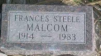 MALCOM, FRANCES - Dixon County, Nebraska | FRANCES MALCOM - Nebraska Gravestone Photos