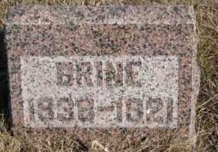 MANLEY, BRINE - Dixon County, Nebraska | BRINE MANLEY - Nebraska Gravestone Photos