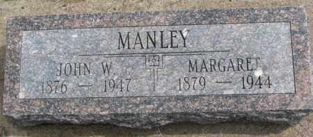 MANLEY, JOHN W. - Dixon County, Nebraska | JOHN W. MANLEY - Nebraska Gravestone Photos