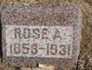 MANLEY, ROSE A. - Dixon County, Nebraska   ROSE A. MANLEY - Nebraska Gravestone Photos