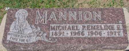 MANNION, EMELINE E. - Dixon County, Nebraska | EMELINE E. MANNION - Nebraska Gravestone Photos