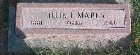 MAPES, LILLIAN F. - Dixon County, Nebraska | LILLIAN F. MAPES - Nebraska Gravestone Photos