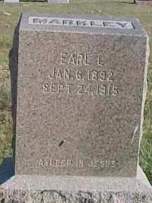 MARKLEY, EARL L. - Dixon County, Nebraska | EARL L. MARKLEY - Nebraska Gravestone Photos