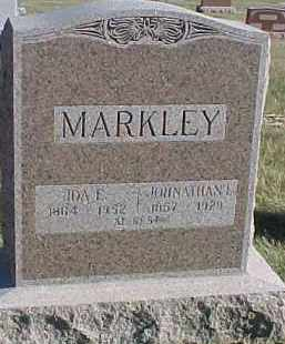 MARKLEY, JOHNATHAN L. - Dixon County, Nebraska | JOHNATHAN L. MARKLEY - Nebraska Gravestone Photos