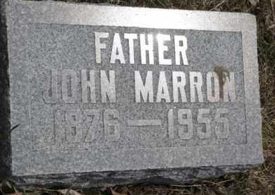 MARRON, JOHN - Dixon County, Nebraska | JOHN MARRON - Nebraska Gravestone Photos