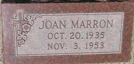 MARRON, JOAN - Dixon County, Nebraska | JOAN MARRON - Nebraska Gravestone Photos