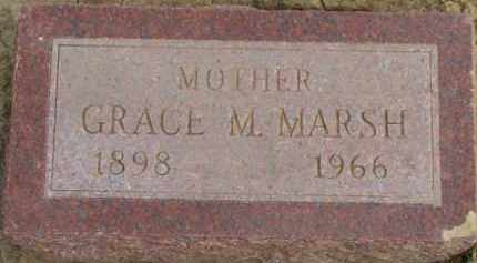 MARSH, GRACE M. - Dixon County, Nebraska | GRACE M. MARSH - Nebraska Gravestone Photos