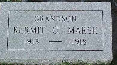 MARSH, KERMIT C. - Dixon County, Nebraska | KERMIT C. MARSH - Nebraska Gravestone Photos