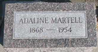 MARTELL, ADALINE - Dixon County, Nebraska | ADALINE MARTELL - Nebraska Gravestone Photos