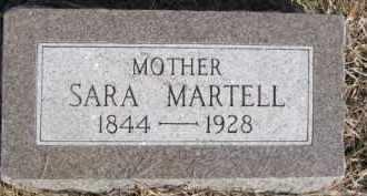 MARTELL, SARA - Dixon County, Nebraska | SARA MARTELL - Nebraska Gravestone Photos