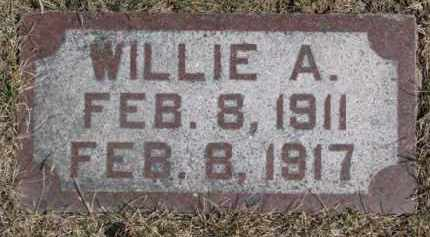 MARTENS, WILLIE A. - Dixon County, Nebraska | WILLIE A. MARTENS - Nebraska Gravestone Photos