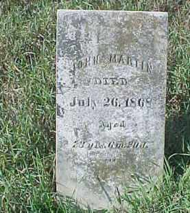 MARTIN, JOHN - Dixon County, Nebraska | JOHN MARTIN - Nebraska Gravestone Photos