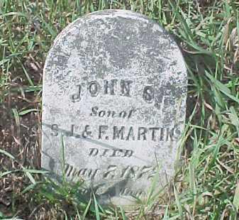 MARTIN, JOHN S. - Dixon County, Nebraska | JOHN S. MARTIN - Nebraska Gravestone Photos