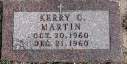 MARTIN, KERRY C. - Dixon County, Nebraska | KERRY C. MARTIN - Nebraska Gravestone Photos