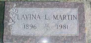 MARTIN, LAVINA L. - Dixon County, Nebraska | LAVINA L. MARTIN - Nebraska Gravestone Photos