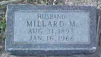 MARTIN, MILLARD M. - Dixon County, Nebraska | MILLARD M. MARTIN - Nebraska Gravestone Photos