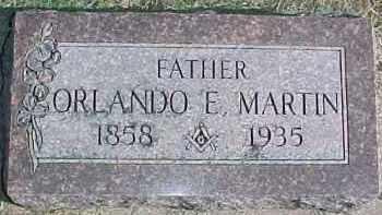 MARTIN, ORLANDO E.1858 TO 11-21-1935 - Dixon County, Nebraska   ORLANDO E.1858 TO 11-21-1935 MARTIN - Nebraska Gravestone Photos