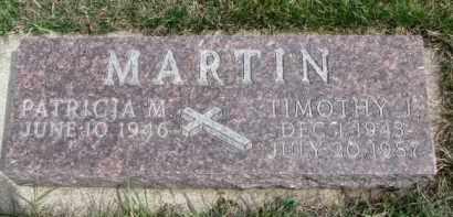 MARTIN, PATRICIA M. - Dixon County, Nebraska | PATRICIA M. MARTIN - Nebraska Gravestone Photos
