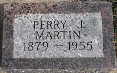 MARTIN, PERRY J. - Dixon County, Nebraska | PERRY J. MARTIN - Nebraska Gravestone Photos