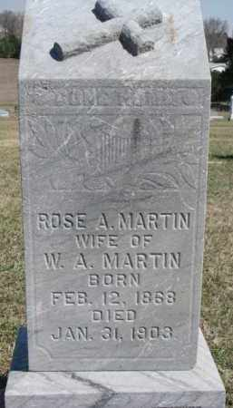 MARTIN, ROSE A. - Dixon County, Nebraska | ROSE A. MARTIN - Nebraska Gravestone Photos