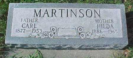 MARTINSON, HILDA - Dixon County, Nebraska | HILDA MARTINSON - Nebraska Gravestone Photos