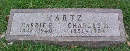MARTZ, CARRIE E. - Dixon County, Nebraska   CARRIE E. MARTZ - Nebraska Gravestone Photos