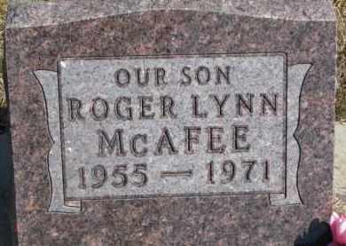 MCAFEE, ROGER LYNN - Dixon County, Nebraska | ROGER LYNN MCAFEE - Nebraska Gravestone Photos
