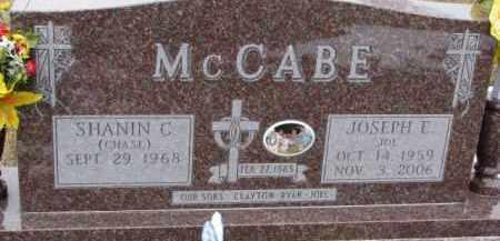 MCCABE, JOSEPH E. - Dixon County, Nebraska | JOSEPH E. MCCABE - Nebraska Gravestone Photos